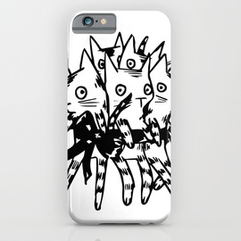 KittyBouquet phone case @society6