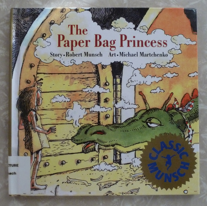 Paper Bag Princess Book Cover ~ Paper bag princess julie rowan zoch
