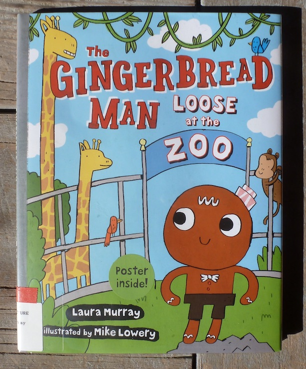 gingerbreadmanlooseatthezoocover