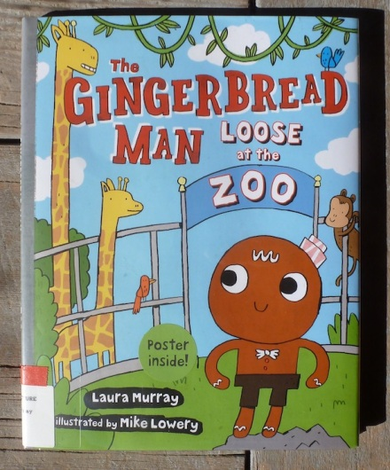 gingerbreadmanlooseatthezoocover
